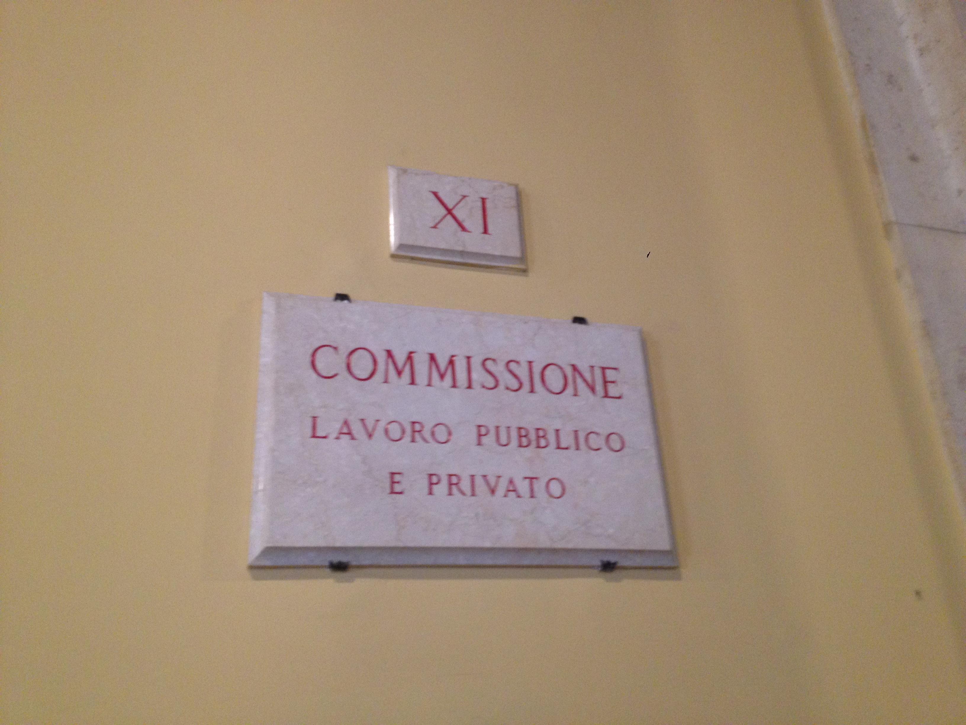 Co n a p i audizione commissione lavoro camera dei for Diretta dalla camera dei deputati